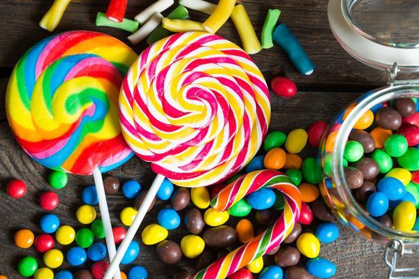 дай мне конфету на английском
